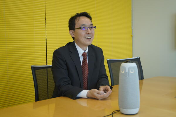 ソースネクスト株式会社 インタビュー中の画像