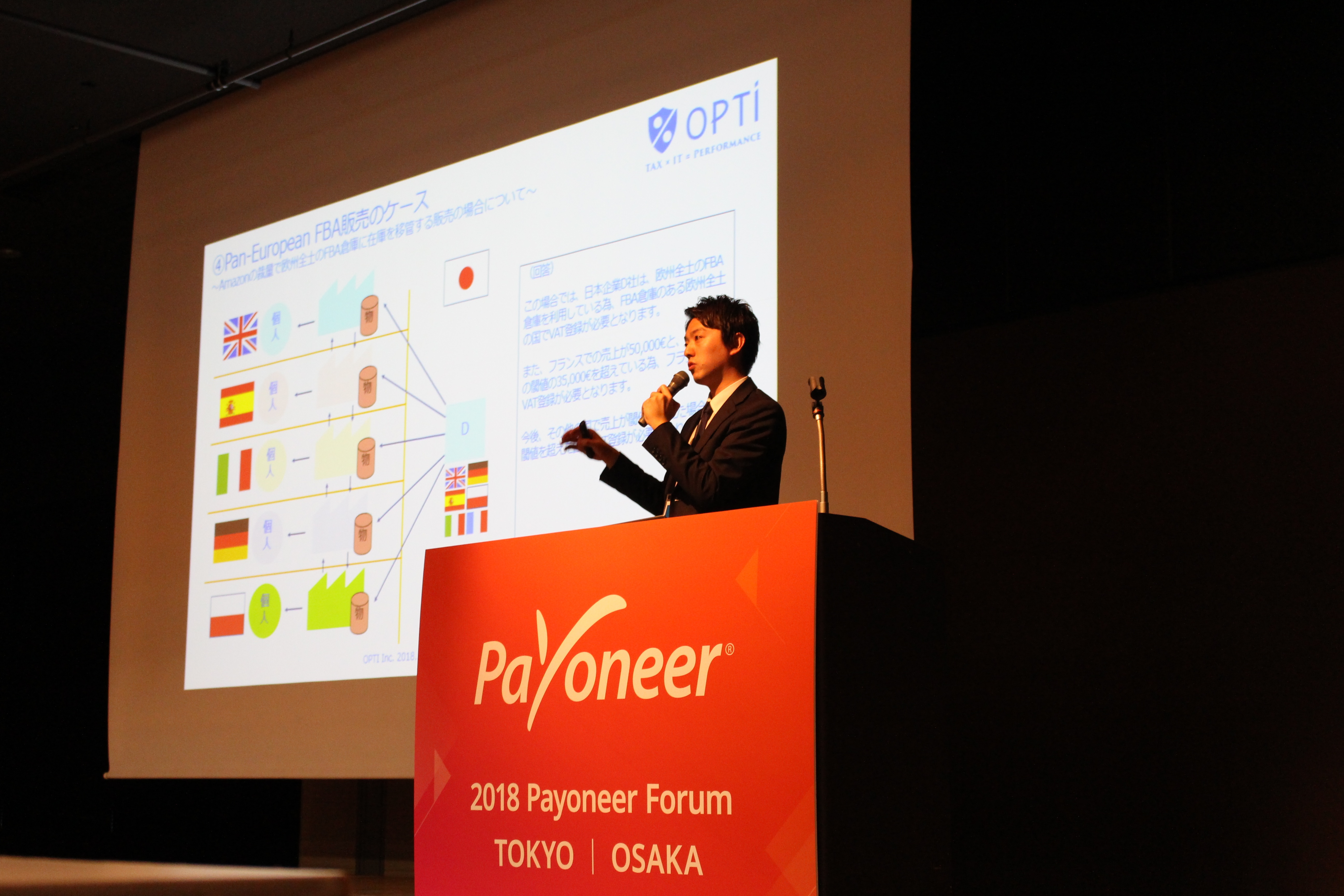 Payoneer Forumにて当社寄吉が登壇しました